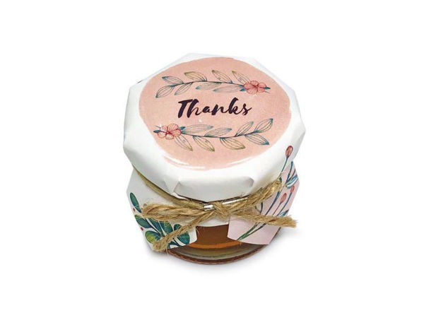 Picture of Raspberry Sienna Honey Jar