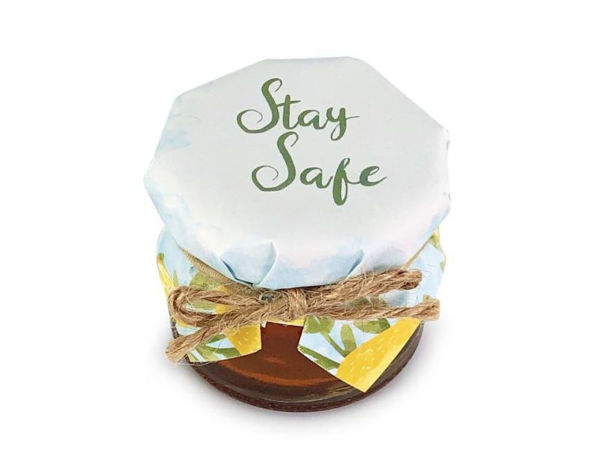 Picture of Stay Safe Honey Jar
