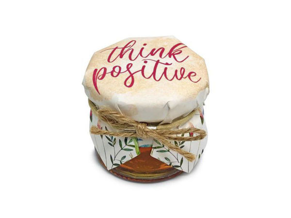 Picture of Think Positive Honey Jar