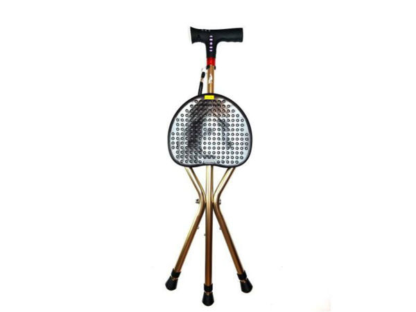 Picture of Agegracefully Chair Walking Stick (Seat Cane with Light and Manual Alarm)