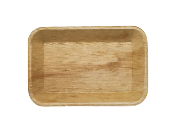 Picture of Areca Leaf Rectangular Sharing Platter 9 by 6 inch