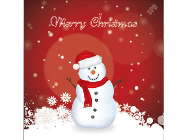 Picture of C14-01 - Cheery Snowman