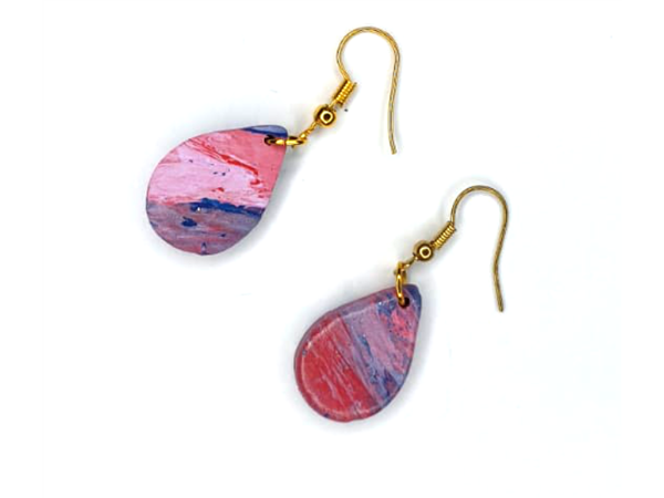 Picture of Handmade Earrings_stormy waves