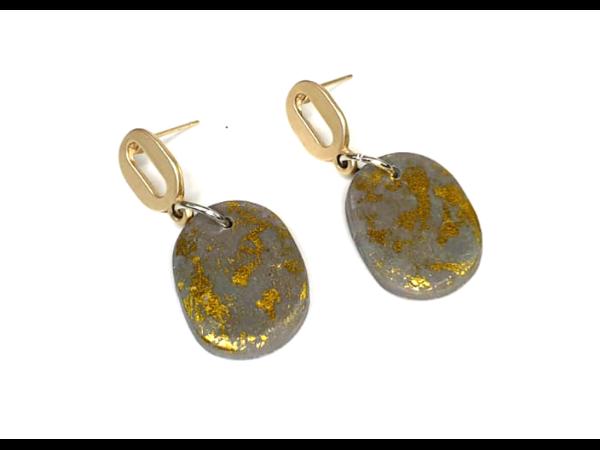 Picture of Handmade Earrings_Golden Sand