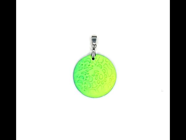Picture of Handmade Pendant_bubble gum