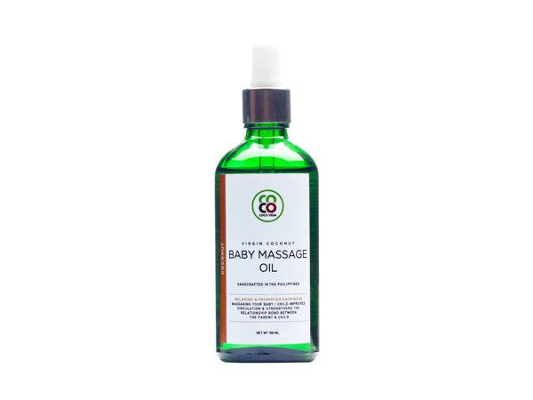 Picture of Virgin Coconut Moisturising Baby Massage Oil – Coconut (100ml)