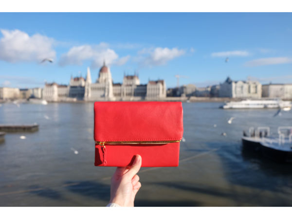 Picture of Red Leather Pursebook