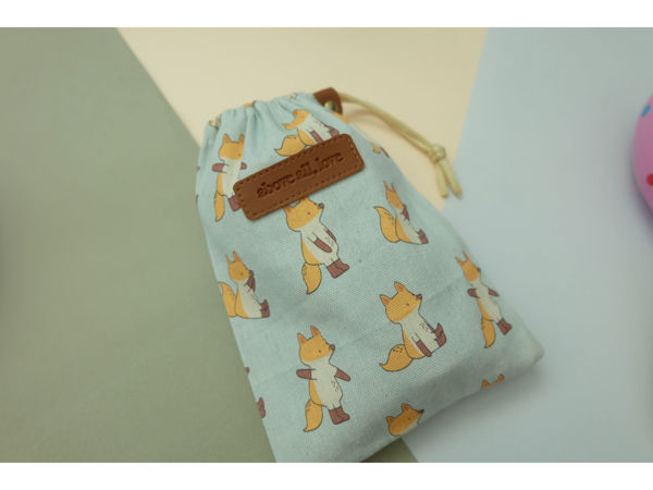 Picture of Jang Fox Drawstring Pouch