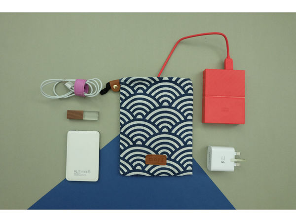 Picture of Waves Drawstring Pouch