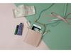 Picture of Pink Mint Leather Dual Zip Sling Bag