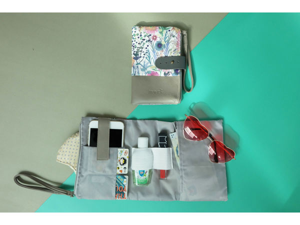 Picture of Floral Grey Organiser