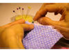 Picture of Sewing class to learn to sew 100 Bliss Blanket 百家被