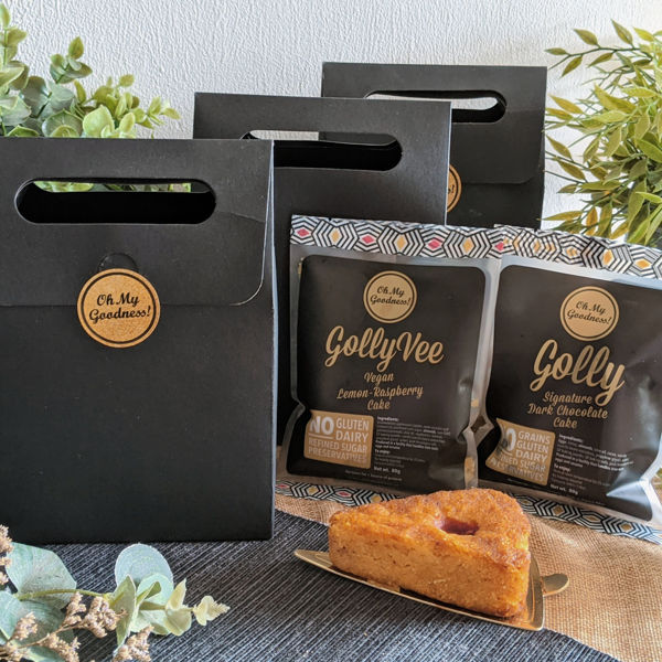 Picture of Goodness Gift Bag : Cake Slices (Gluten and Dairy Free)