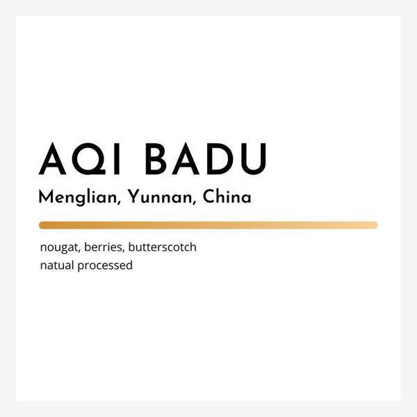 Picture of Freshly Roasted Single-Origin Coffee Beans - Yunnan Aqi Badu