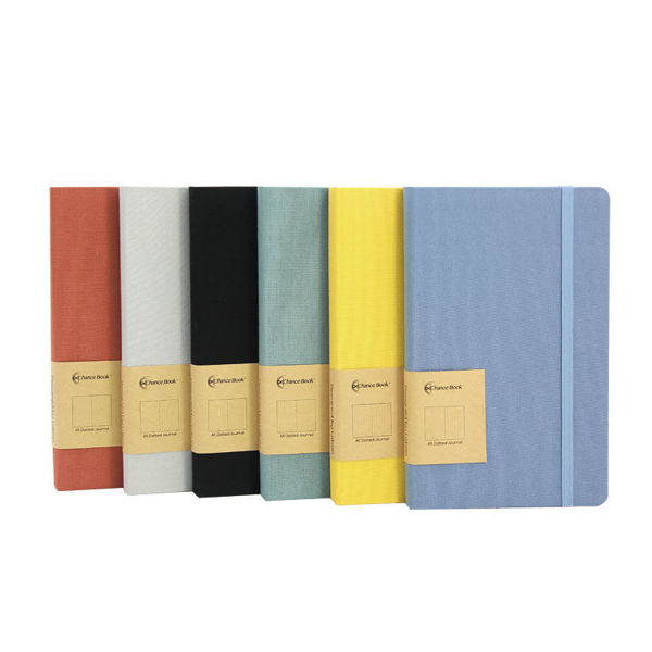 Picture of Linen Hard Cover Notebook