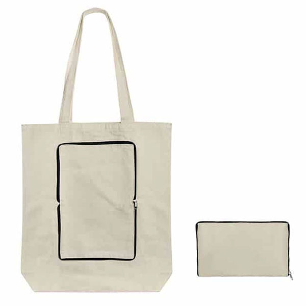 Picture of Foldable Canvas Tote Bag