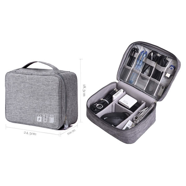 Picture of Double Layer Gadget Organiser Pouch