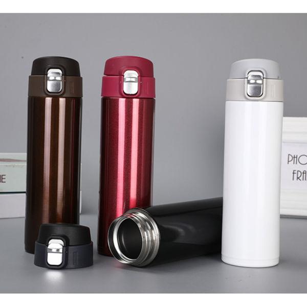 Picture of Flip Cap Metal Flask