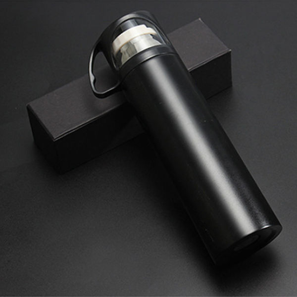 Picture of Metal Flask with Mini Cup