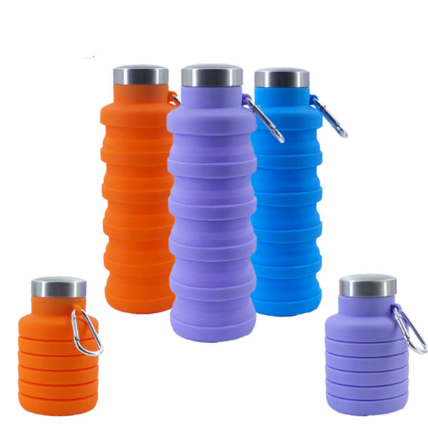 Picture of 500ml Silicon Collapsible Water Bottle