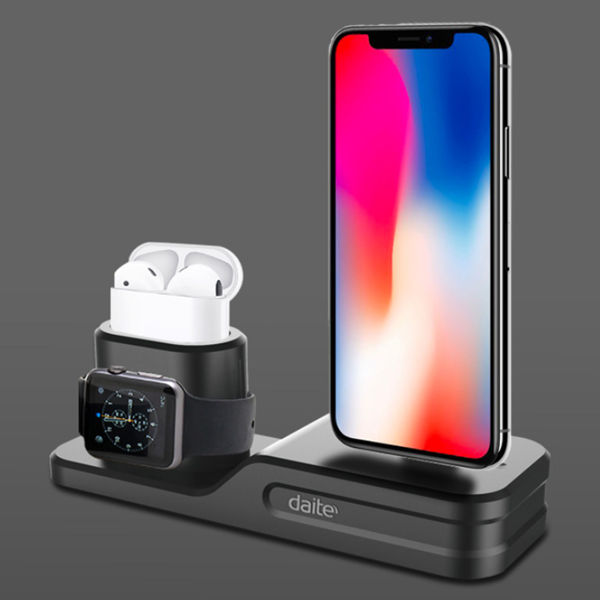 Picture of 3-in-1 Charging Station and Phone Holder