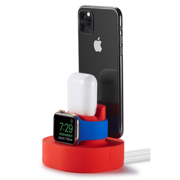 Picture of 3-in-1 Compact Charging Station and Phone Holder