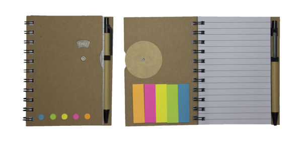 Picture of 3-in-1 Eco-Friendly Notebook