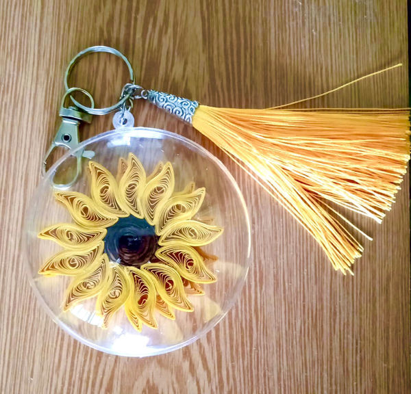 Picture of Sunflower Keychain