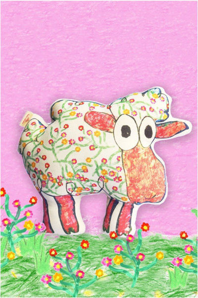 """Picture of TOHE STUFFED """"SHEEP"""""""