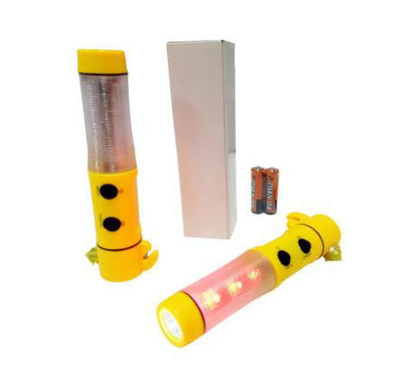 Picture of 5-in-1 Plastic Saftey Torchlight
