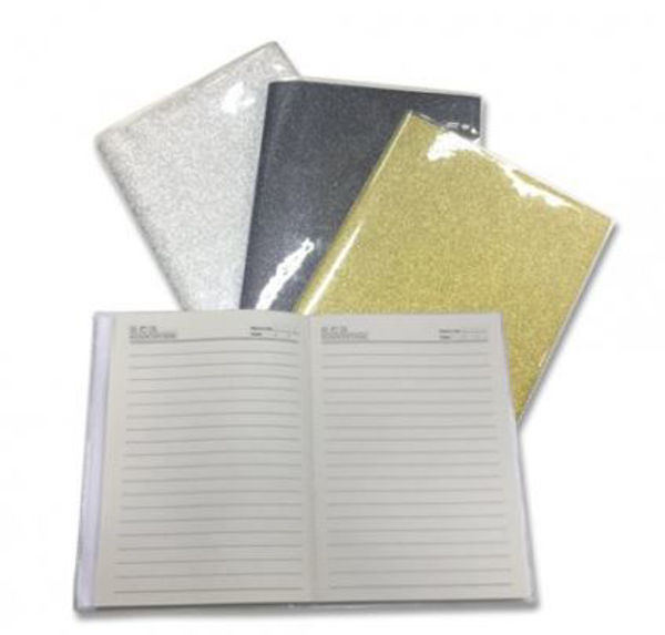 Picture of Shimmering A5 Note Book w/pvc cover