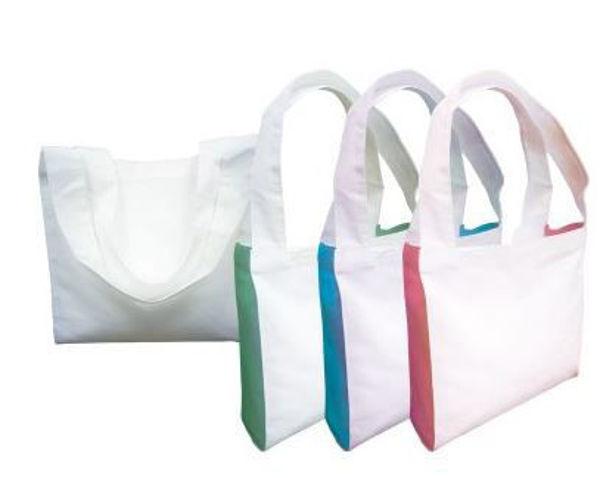 Picture of 10oz 2-Tone Cotton Canvas Tote Bag
