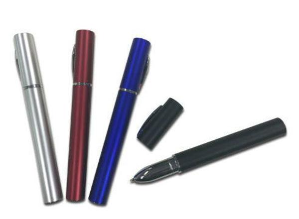 Picture of Metallic Plastic Pen with cap
