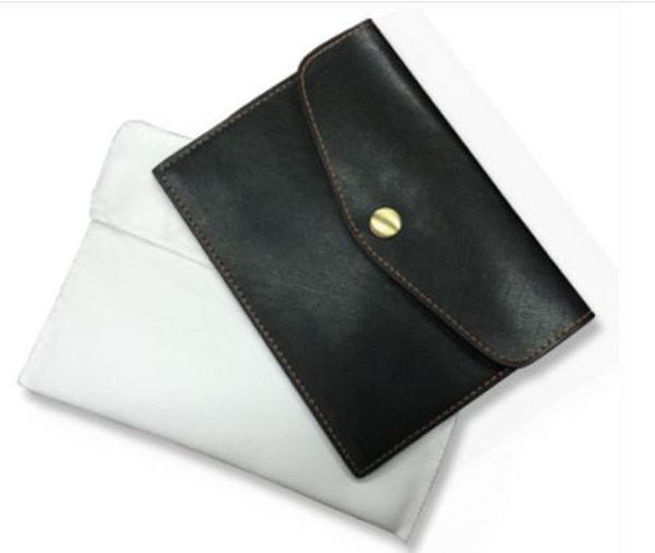 Picture of PU Passport Holder with slot sleeve