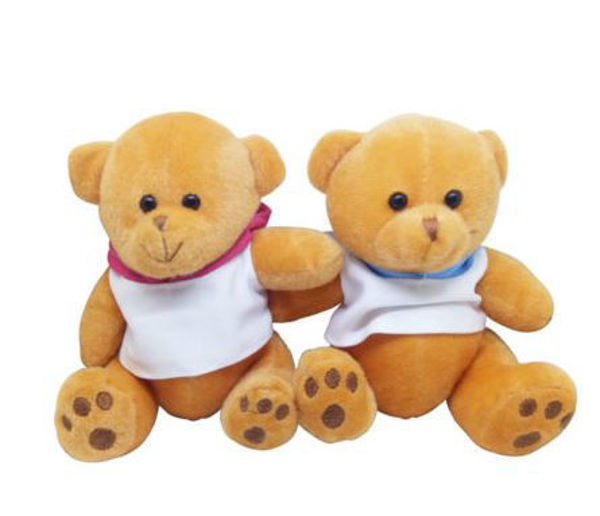 Picture of 15cm Teddy Bear with Hoodie