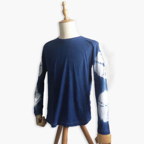 Picture of Eco Batik Tie Dye Long Sleeved T-shirt
