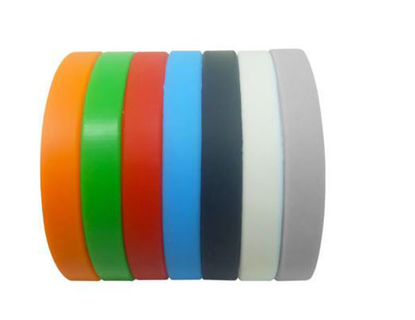 Picture of 10mm Silicon Wrist Band