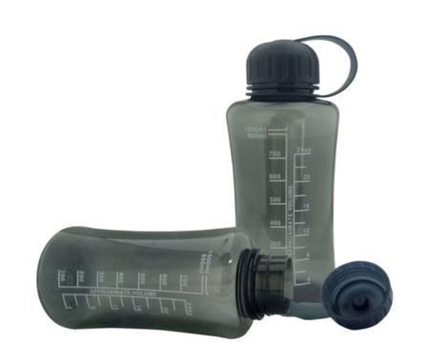 Picture of 1L Black Tritan Water Bottle (BPA Free)