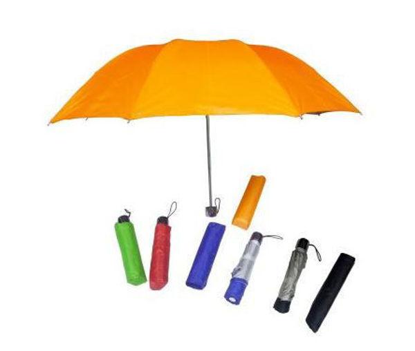 """Picture of 21"""" 3 Fold Nylon Umbrella"""
