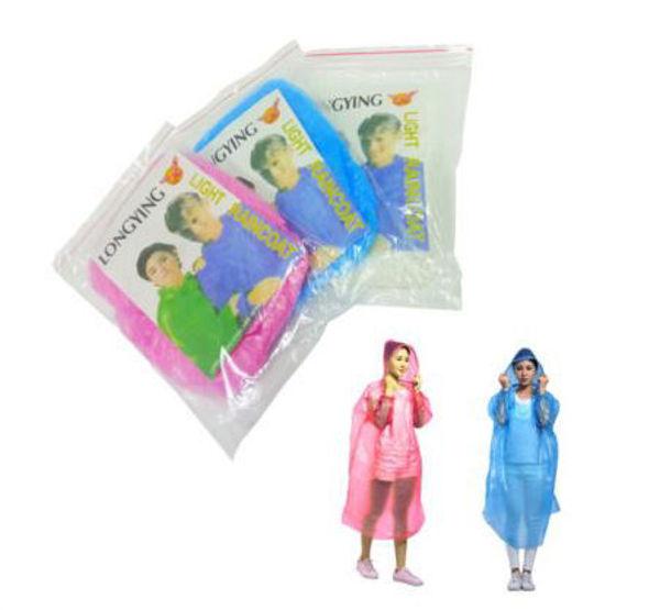 Picture of Disposable Raincoat 105x75cm
