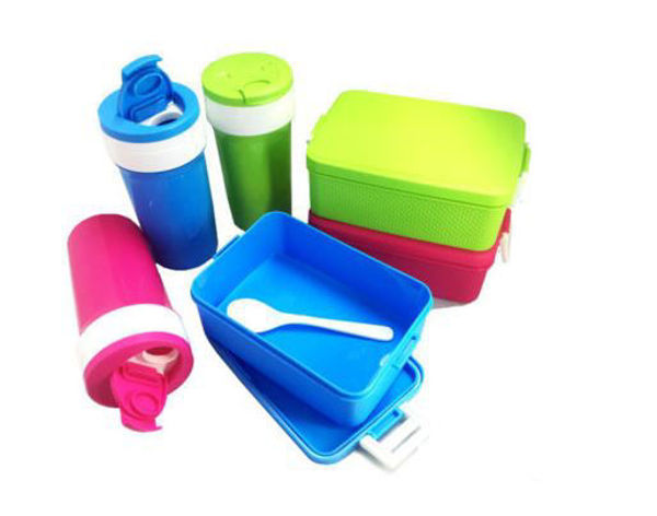 Picture of Lunch Box & Tumbler Set w/spoon