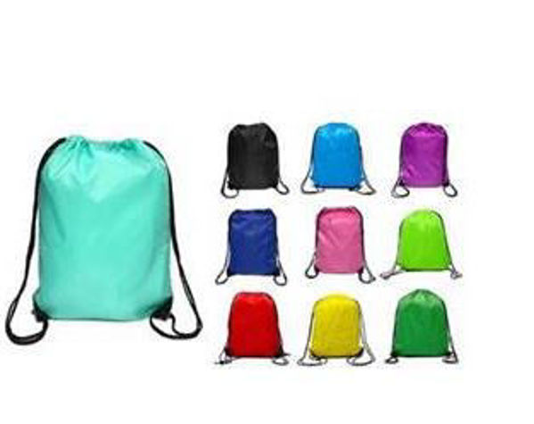 Picture of 210D Water-Resistant Drawstring Backpack