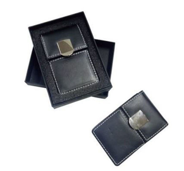 Picture of PU Namecard Holder with magnetic button