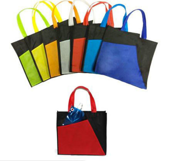 Picture of Black A3 2-Tone Non-Woven Bag