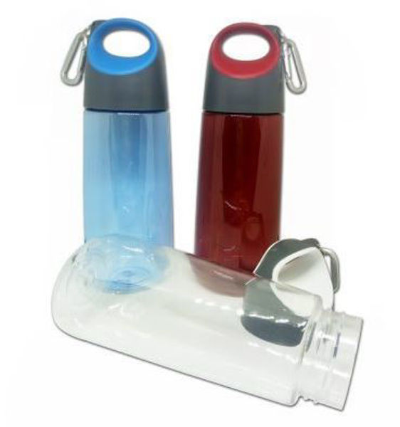 Picture of 350ml PC Bottle with carabiner