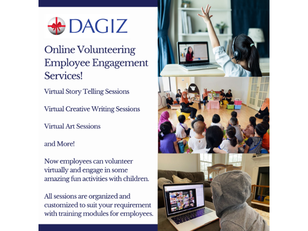 Picture of Employee Engagement Services: Online Volunteering Sessions