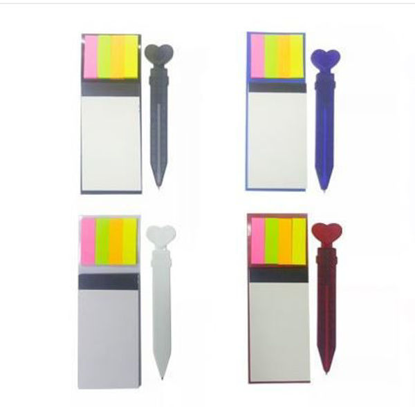 Picture of Magnetic Notepad with post-it & pen