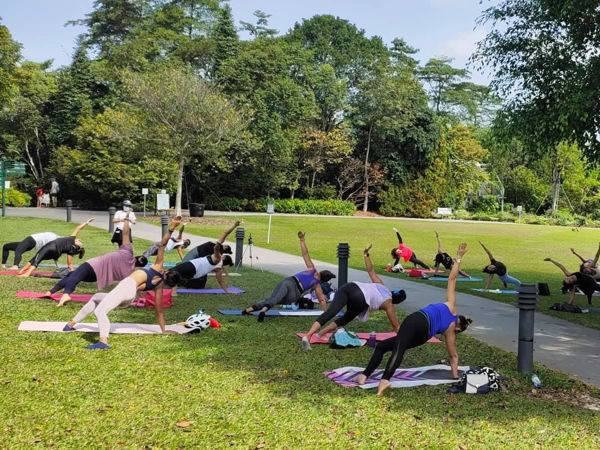 Picture of Yoga For Women @ Botanic Gardens