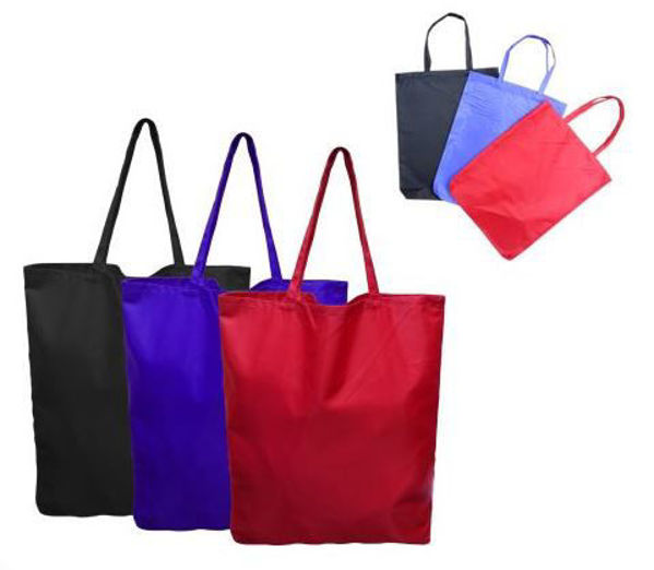 Picture of Nylon with PVC  Coating Tote Bag
