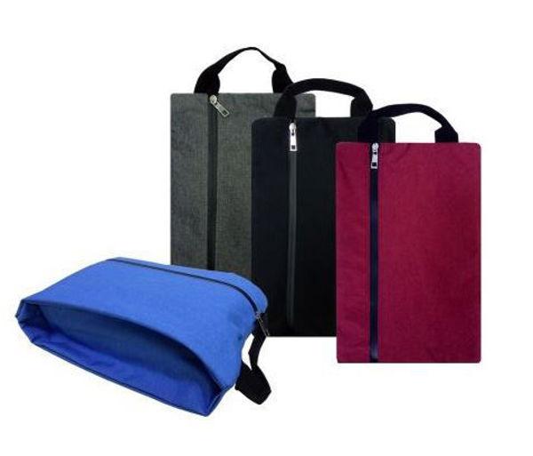 Picture of Melange Nylon Shoe Bag